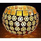 Diya Candle Holder Indian Designer Glass Home Decor