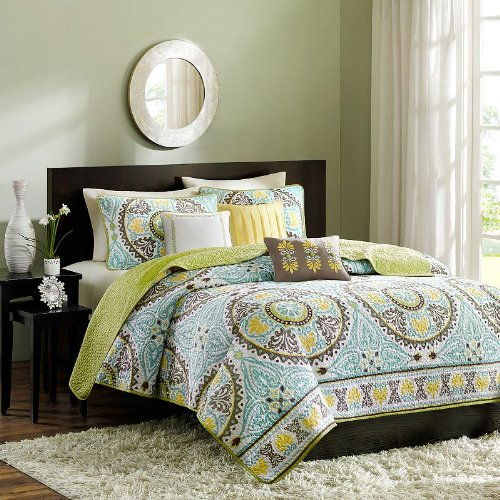 Madison Park Samara 6 Piece Coverlet Set