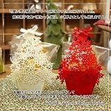 クリスマス スノーフレーク&ツリー☆フェルトボックス小物入れになるフェルトBOXin焼き菓子