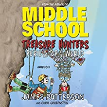 Treasure Hunters: Peril at the Top of the World Audiobook by James Patterson Narrated by Bryan Kennedy