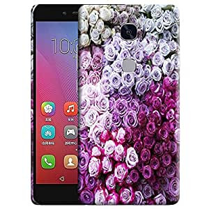 Theskinmantra Rose Bunch back cover for Huawei Honor 5X