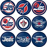 "Winnipeg Jets NHL Round Badge 1.75"" Pinback at Amazon.com"