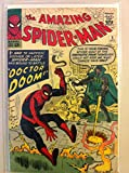 Spiderman #5 Doctor Doom Oct 63 NO MAILING LABEL Good (2 out of 10) Heavily Used by Mickeys Pubs