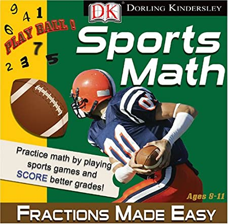 DK Sports Math: Fractions Made Easy