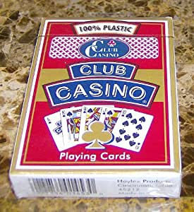 club casino playing cards