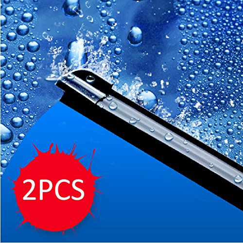 "Areyourshop 2x 20""&20"" Bracketless Windshield Wiper Blade For 2005-2013 Ford E-Series"