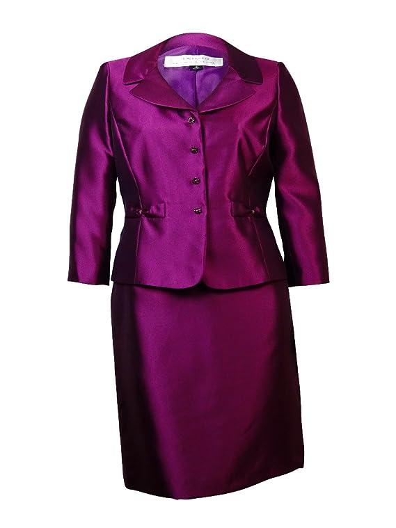 Tahari Women's Sebastian English Manor Skirt Suit