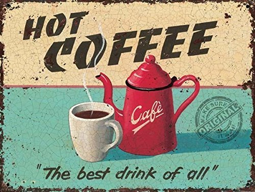 hot-coffee-pot-cup-for-cafe-drink-or-kitchen-old-vintage-retro-advertising-decorative-medium-metal-s