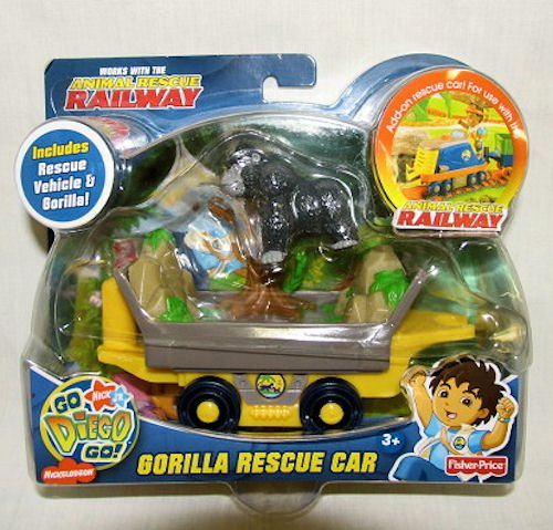 Go Diego Go, Gorilla Rescue Car - 1