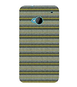 Net Pattern Design 3D Hard Polycarbonate Designer Back Case Cover for HTC One M7 :: HTC M7