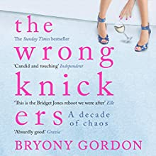The Wrong Knickers: A Decade of Chaos (       UNABRIDGED) by Bryony Gordon Narrated by Sophie Bleasdale