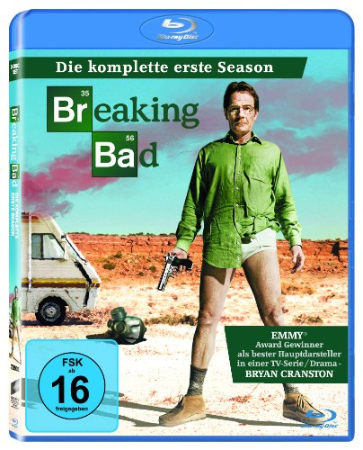 Breaking Bad - Die komplette erste Season [2 Blu-ray]