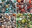 150g Luxury mixed lot of Glass Tibetan Wood Jewellery Making Beads (Turquoise)