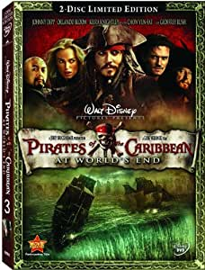 Pirates Of The Caribbean 3: At World's End Including DVD Exclusive Extra Features + Bonus Interviews + Deleted Scenes/Bloopers (2 Disc Set) [DVD]