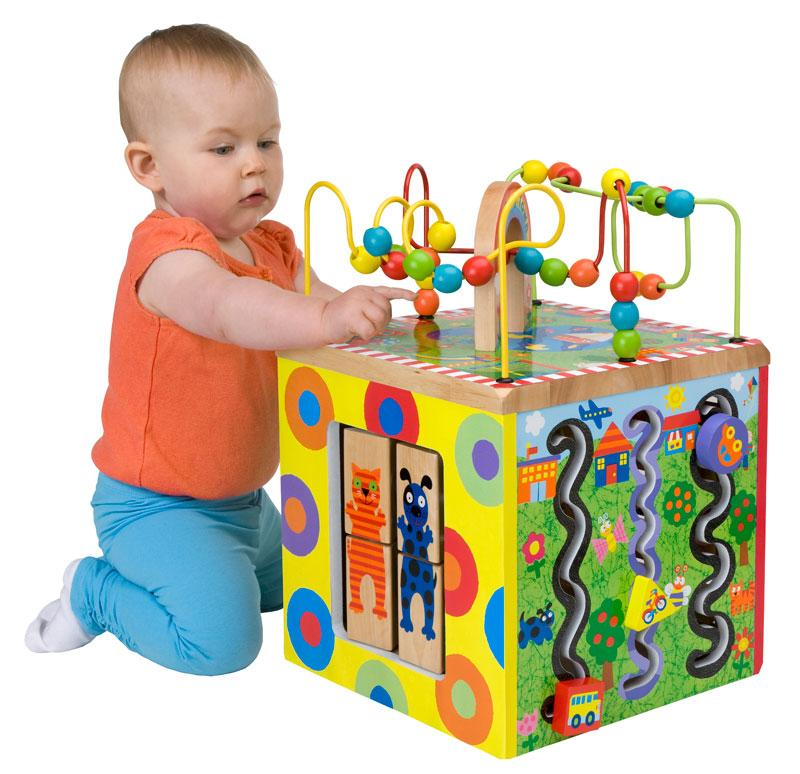 Toddler Development Toys : New alex toys jr my busy town baby wooden