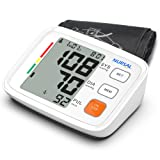 Upper Arm Digital Blood Pressure Monitor with WHO Indicator and Large LCD Screen for 2 Users(2 * 90 Storage), Automatic Electronic Monitor with Portab