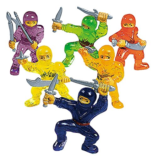 Ninja Warrior Toy Figures (4 dz)