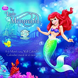 The Little Mermaid 2014 Calendar: 25th Anniversary