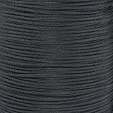 Paracord Planet Nylon Core 550lb Type III 7 Strand Paracord Made in the U.S.A. Over 200 Colors Available!,100 Feet,Black (Color: Black, Tamaño: 100 Feet)