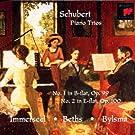 Franz Schubert :  Trios pour piano, violon et violoncelle n� 1 D. 898 op. 99 et n� 2  D. 929 op. 100