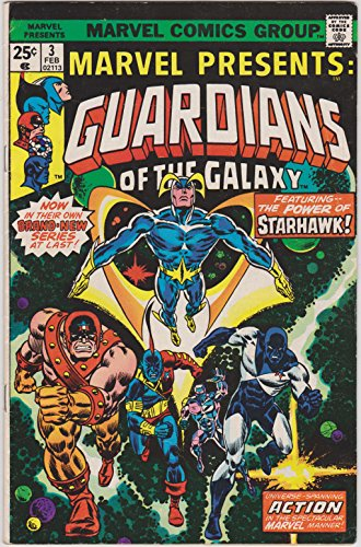 Marvel Presents #3 Guardians of the Galaxy (Marvel Presents Guardians compare prices)