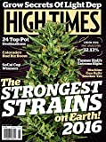 "High Time Magazine #485 June 2016 ""The Strongest Strains on Earth! 2016"""