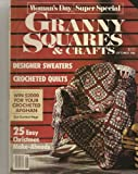 img - for Granny Squares & Crafts, September 1986 (Woman's Day Super Special) book / textbook / text book