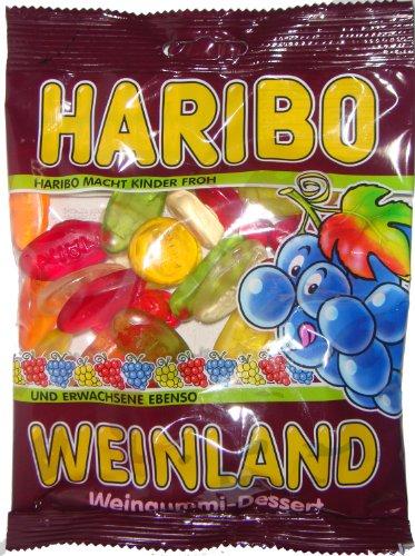 Haribo Weinland Weingummi, 6er Pack (6 x 200 g Beutel)
