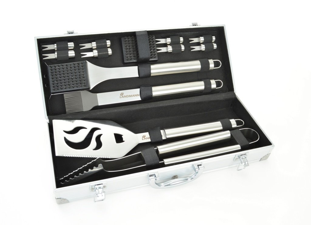 Landmann Edelstahl-Werkzeug-Set 13 Stück jetzt kaufen