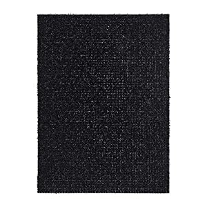 Ikea ydby door mat black 58x79 cm for Door mats amazon