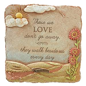 Grasslands Road Those We Love Square Stepping Stone, 10-Inch