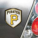 MLB Pittsburgh Pirates Team Shield Automobile Reflector at Amazon.com