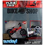 Flick Trix BMX Display Case with Bike...