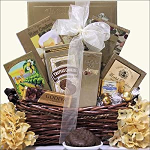 Refined Elegance: Gourmet Upscale Gift Basket