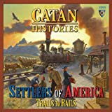Mayfair Games Catan Histories Settlers of America Trails to Rails