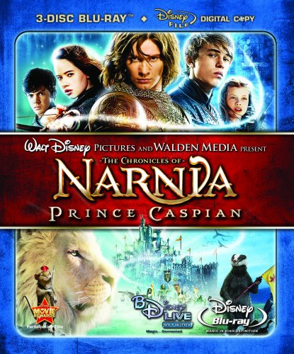 Cover art for  The Chronicles of Narnia: Prince Caspian (Three-Disc Collector&#039;s Edition+ Digital Copy and BD Live) [Blu-ray]