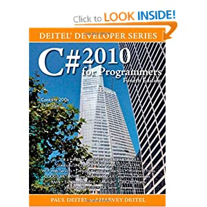 C# 2010 for Programmers (Deitel Developer)