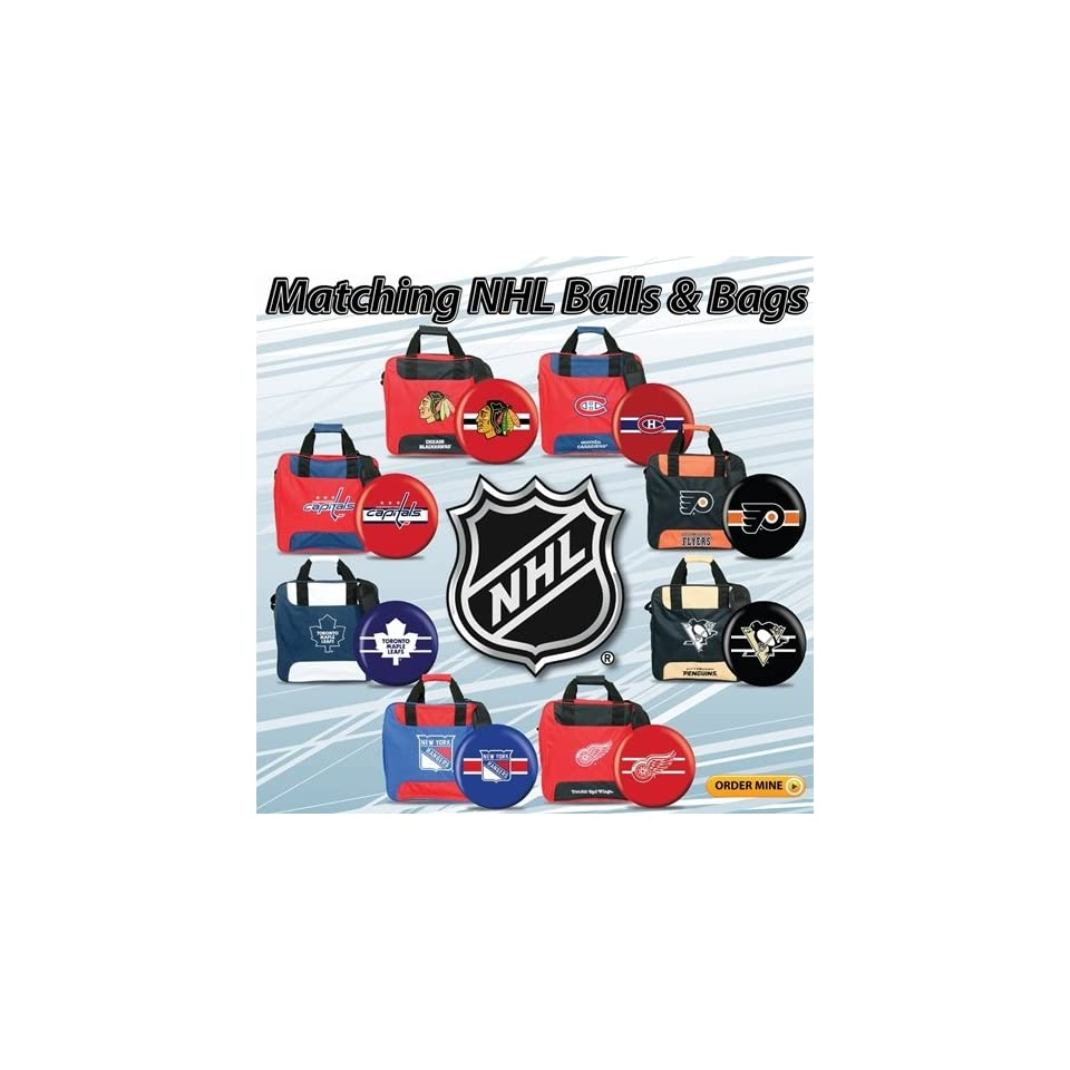 NHL Bowling Ball and Bag Package 8 Teams on PopScreen 47aff26d6a6c8