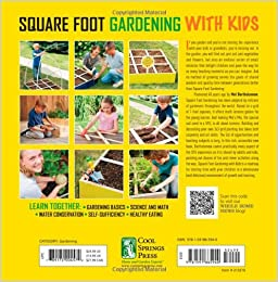 Square Foot Gardening With Kids Learn Together Gardening Basics Science And Math Water