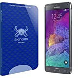 Skinomi Tech Glass - Samsung Galaxy Note 4 Glass Screen Protector with Lifetime Replacement Warranty / Ultra Thin (.33mm Thickness) Premium Tempered Glass - Crystal Clear 9H Hardness with Oleophobic Coating - 99% Clarity and Touchscreen Accuracy - Retail Packaging