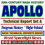 img - for 20th Century NASA History: Apollo Technical Reports - Set A, Program History and Flight-Related Documents (Six CD-ROM Set) book / textbook / text book