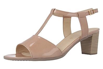 Gabor-Sandaletten Femme-Vernis Rose Chaussures en ubergrößen