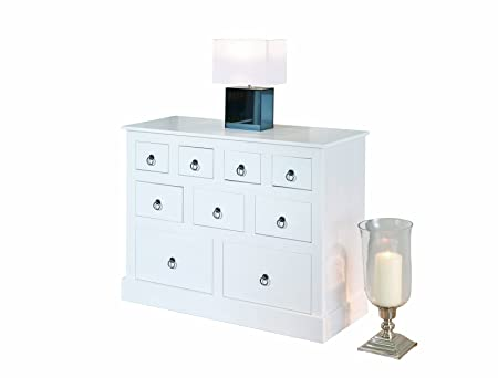 Links 20901520 Credenza Provence 2, colore bianco