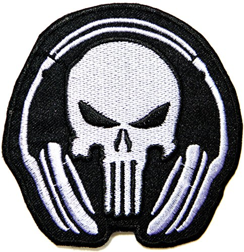 Punisher Skull GOD WILL JUDGE OUR ENEMIES Tactical Military Army Cartoon Comic Patch Sew Iron on Embroidered Applique Collection DIY By PatchPrimum (Marvel Tire Cover compare prices)