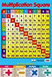 Carré des Tables de Multiplication Mini Poster 40 x 60 cm