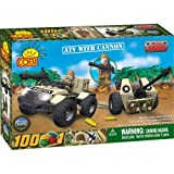 COBI Small Army ATV with a Cannon, 100 Piece Set
