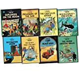 Herge Herge The Adventures of Tintin 8 Books Collection Pack Set RRP: £63.92 (Prisoners of the Sun, The Calculus Affair, Explorers on the Moon, Land of Black Gold, Red Rackham's Treasure, Destination Moon, Seven Crystal Balls, The Secret of The Unicorn)