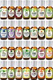Christmas Ultimate (28 Bottles) Essential Oil Gift Set 100% Pure, Best Therapeutic Grade Aromatherapy Collection - 28/10 mL