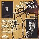 brahms : concerto pour violon et orchestre op.77 - bruch : concerto pour violon et orchestre n�1 op.