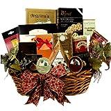 Art of Appreciation Gift Baskets Epicurean Feast Gourmet Food Basket with Caviar